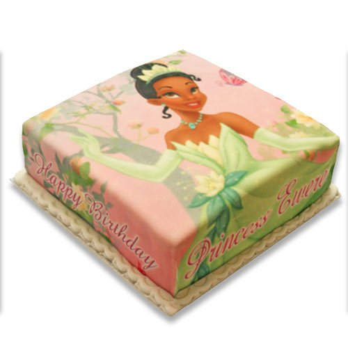 Princess Canvas Cake Example