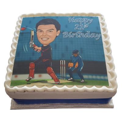 photo cake example