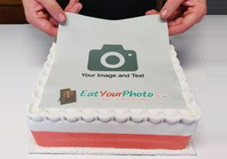 Apply Edible Photo