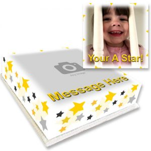 star cake with your photo