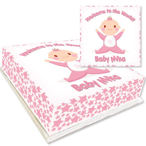 Welcome Baby Girl Cake