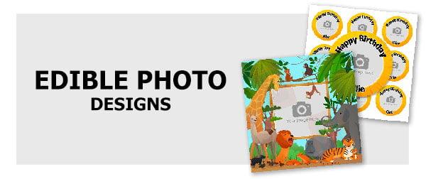edible photo designs