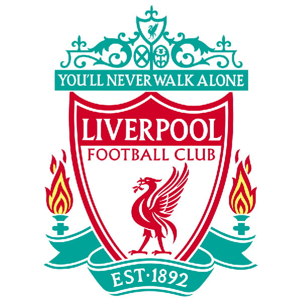 liverpool football cake topper