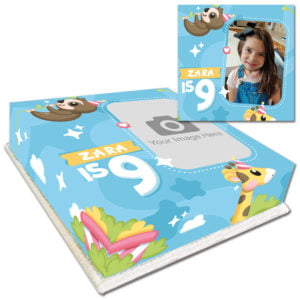 Buy Kids Animal Photo Cake - Delivered Fresh Nationwide