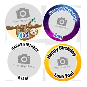 Upload your photo cupcakes