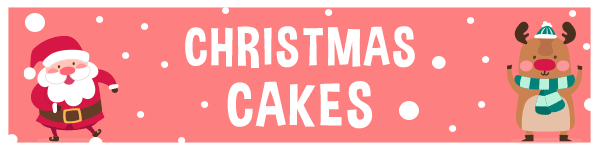EatYourPhoto Christmas Cakes