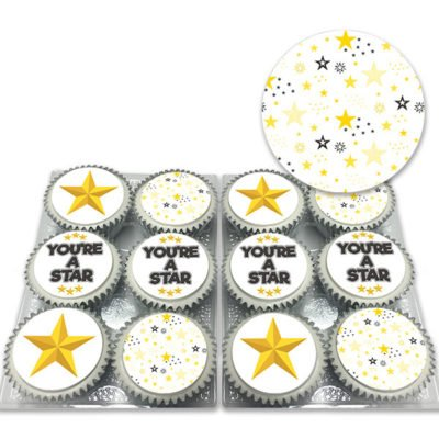 You're a star celebration cupcakes
