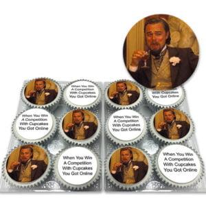 DiCaprio Meme Cupcake Gift