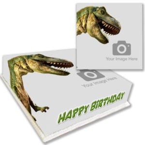 Personalised T-Rex Birthday Cake