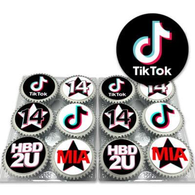 TikTok Cupcakes Delivered