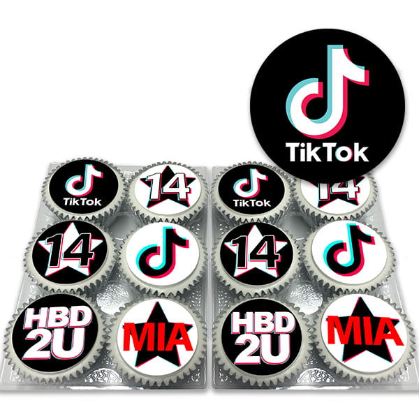 TikTok Cupcakes Delivered
