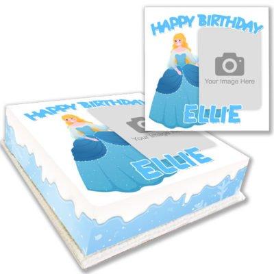 Elsa Princess Birthday Cake