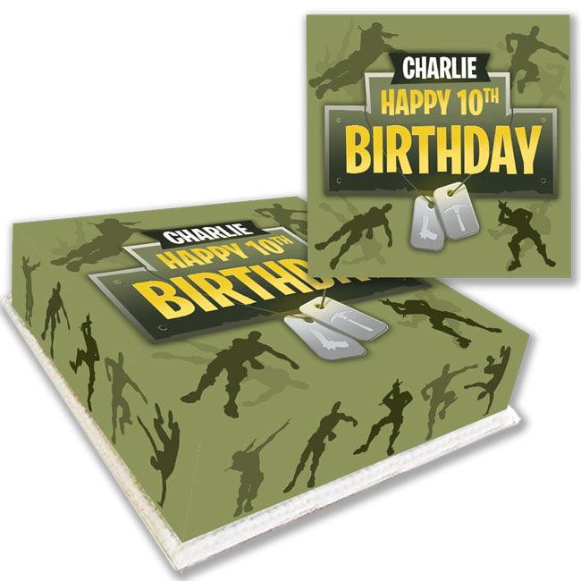 fortnite royale birthday cake delivered