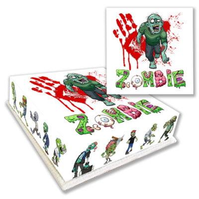 Zombie Halloween Character Cake